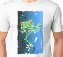 Red Eyed Green Tree People Eating Frog Unisex T-Shirt