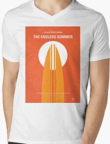 No274 My The Endless Summer minimal movie poster Mens V-Neck T-Shirt