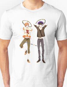Heart warm, Head cool Unisex T-Shirt