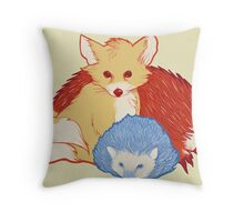 Fast Friends Throw Pillow