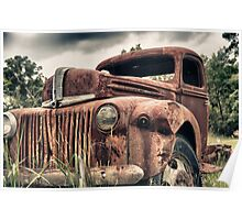 Old Ford Poster