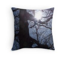 The Warm Hand Of The Sun Throw Pillow