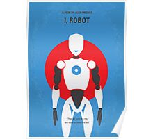 No275 My I ROBOT minimal movie poster Poster