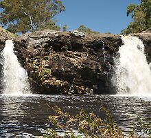 Turpins Falls - Metcalfe, Victoria by Dave Callaway