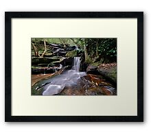 Second Falls Somersby..2-4-11. Framed Print