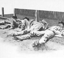 Lazy Cowboys by J.D. Bowman