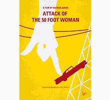 No276 My Attack of the 50 Foot Woman minimal movie poster Unisex T-Shirt