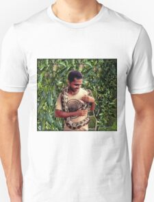 TEMPTATION-PYTHON-MAN- AND THE FORBIDDEN FRUIT..PILLOW-JOURNAL-TOTE BAG-ECT.. T-Shirt