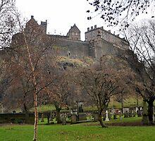 Edinburgh Castle, Edinburgh Scotland by Kathryn  Young