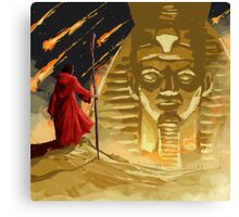 Moses in Egypt Canvas Print