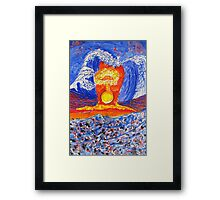 The Aftermath.-Japanese Tremors. Framed Print