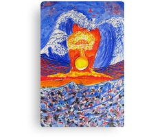 The Aftermath.-Japanese Tremors. Canvas Print