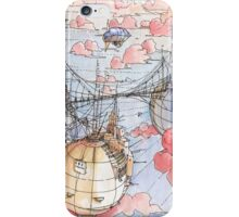 Le Tre Mongolfiere iPhone Case/Skin