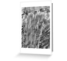 Water Fall #1 , watercolor Greeting Card
