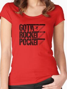 West Side Story - Gotta Rocket in Your Pocket Women's Fitted Scoop T-Shirt