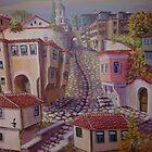 Plovdiv old town by kseniako