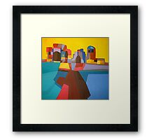 ancient sidon Framed Print