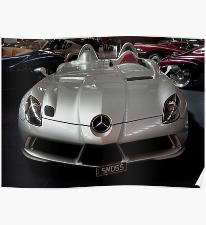 Stirling Moss Mercedes Poster