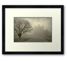 History in perspective Framed Print