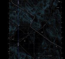 USGS Topo Map Oregon Folly Farm 20110831 TM Inverted by wetdryvac