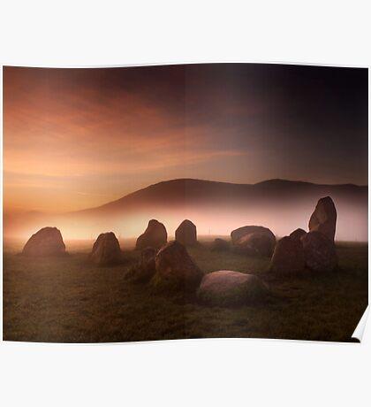 Castlerigg Stone Circle Poster