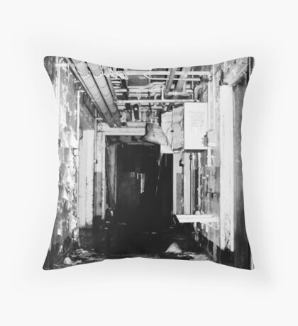 Room 3 is straight ahead Throw Pillow