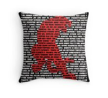 """""""The Year Of The Tiger"""" Throw Pillow"""