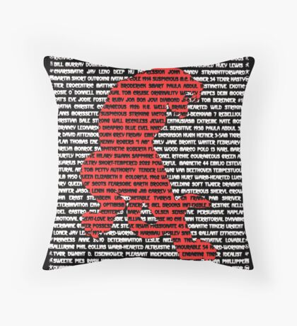 """The Year Of The Tiger"" Throw Pillow"