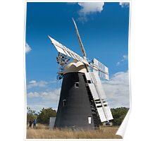 Thelnetham Windmill Poster