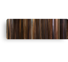 Moviebarcode: The Godfather: Part II (1974) Canvas Print