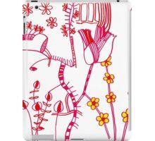 scandi purple doodle iPad Case/Skin