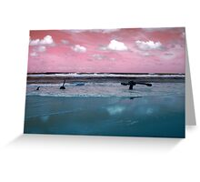 Surrealistic Seascape IV Greeting Card