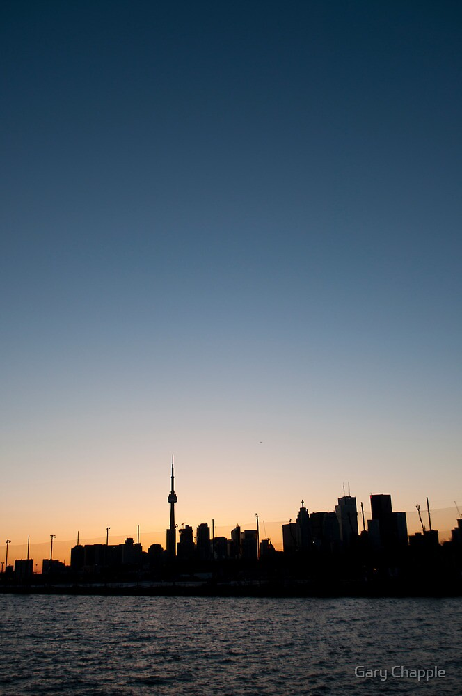CN Tower and the Big Sky by Gary Chapple