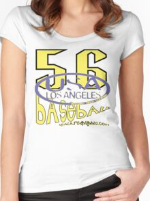 usa la tshirt by rogers bros Women's Fitted Scoop T-Shirt