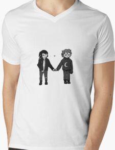 Wolfstar Mens V-Neck T-Shirt