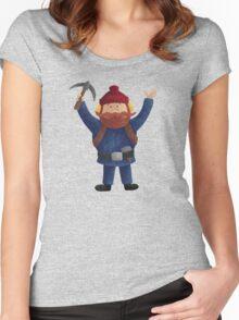 Yukon Cornelius New Women's Fitted Scoop T-Shirt