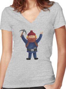 Yukon Cornelius New Women's Fitted V-Neck T-Shirt