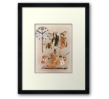 Time Pieces..... Framed Print