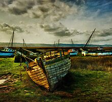 Estuary Evening by Tarrby