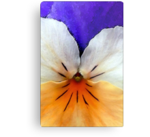 Proud to be a Pansy Metal Print