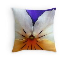Proud to be a Pansy Throw Pillow
