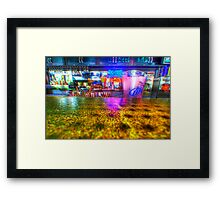 Bar Shot Framed Print