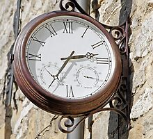 Double Sided Station Clock, Bakewell by Rod Johnson