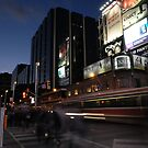 Busy movements in Toronto - Yonge &amp; Dundas Square by kihoism