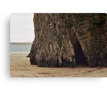 Sea Cave - Tenby Canvas Print