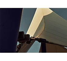 Architectural Detail - Cardiff Bay Photographic Print