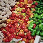 Chilies and Ginger - Burrough Market London by Thomas Martin