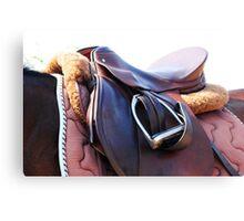 Horse Tack Canvas Print