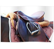 Horse Tack Poster