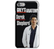 Derek Shepherd phone case iPhone Case/Skin